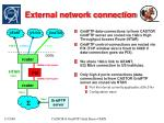 external network connection