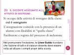 5 il docente assegnato alle attivit di sostegno