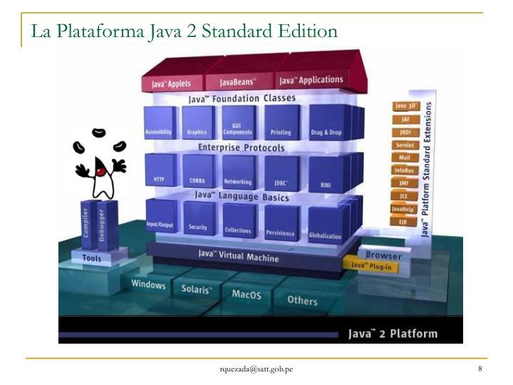 La Plataforma Java 2 Standard Edition