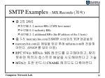 smtp examples mx records3