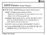 smtp futures body changes