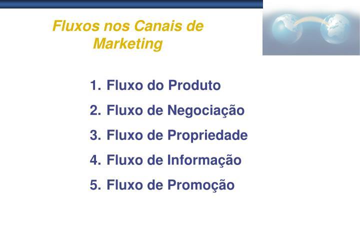 Fluxos nos Canais de Marketing
