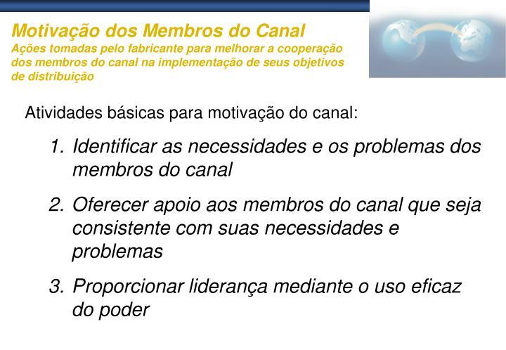 Motivação dos Membros do Canal