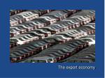 the export economy