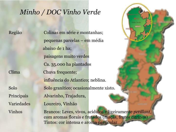 Minho / DOC Vinho Verde
