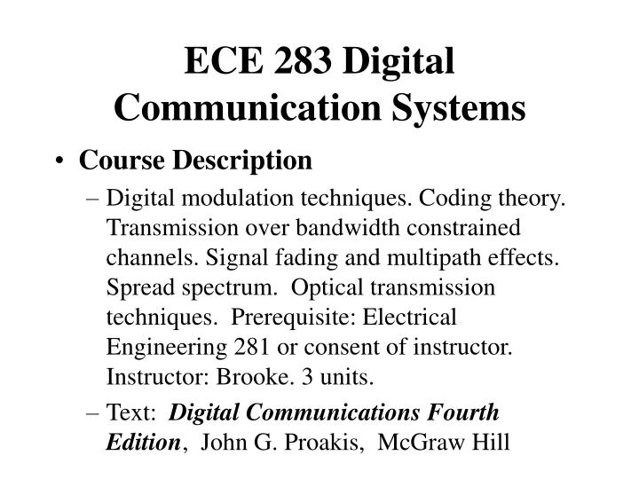 ece 283 digital communication systems n.