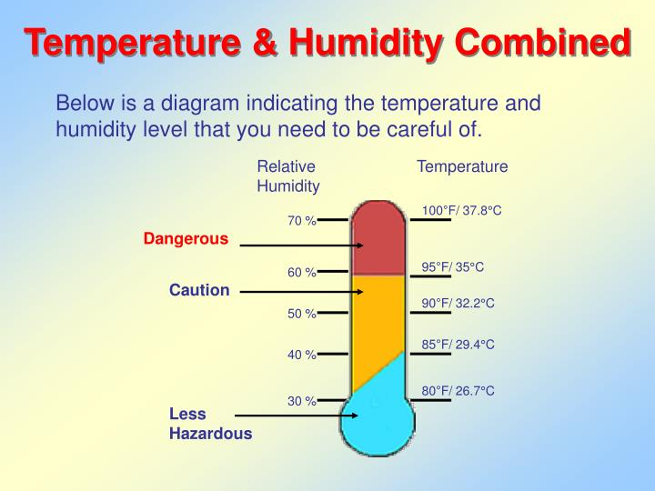 Temperature humidity combined