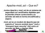 apache mod ssl que es