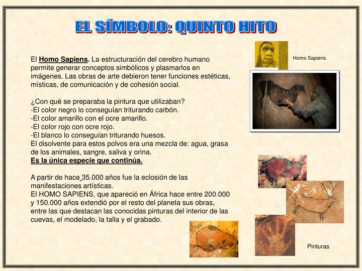 EL SÍMBOLO: QUINTO HITO