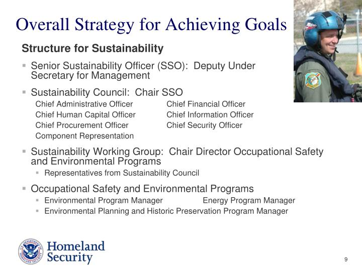 Overall Strategy for Achieving Goals