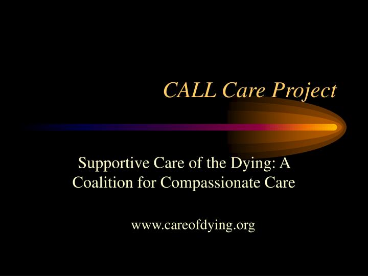 call care project n.