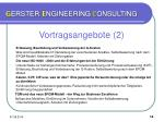 g erster e ngineering c onsulting12