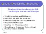 g erster e ngineering c onsulting6