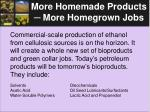 more homemade products more homegrown jobs