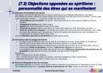 7 3 objections oppos es au spiritisme personnalit des tres qui se manifestent1