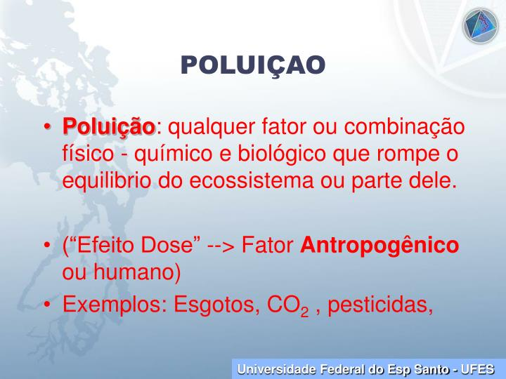 POLUIÇAO