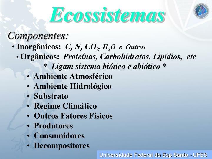 Ecossistemas