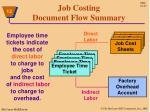 job costing document flow summary1