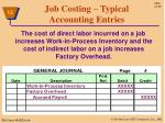 job costing typical accounting entries3
