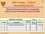 job costing typical accounting entries5