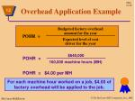 overhead application example1