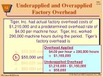underapplied and overapplied factory overhead8