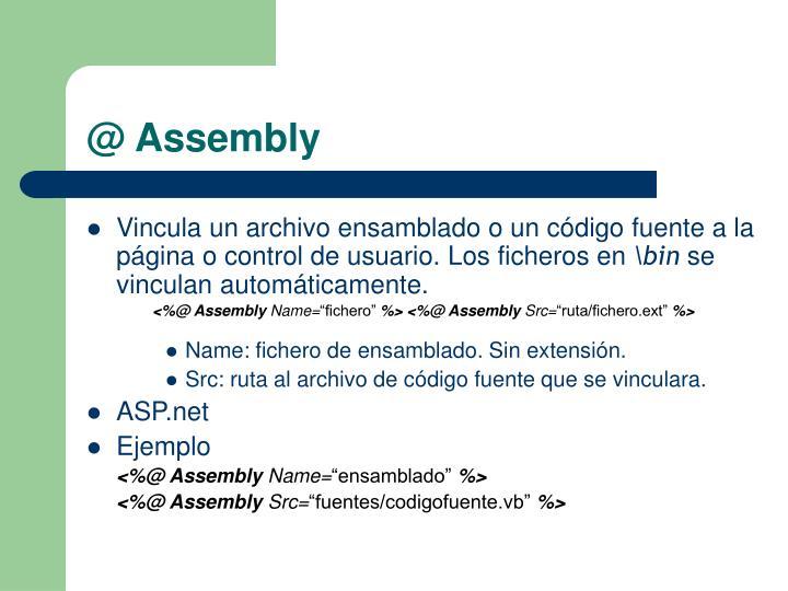 @ Assembly