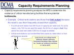 capacity requirements planning1