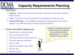 capacity requirements planning2