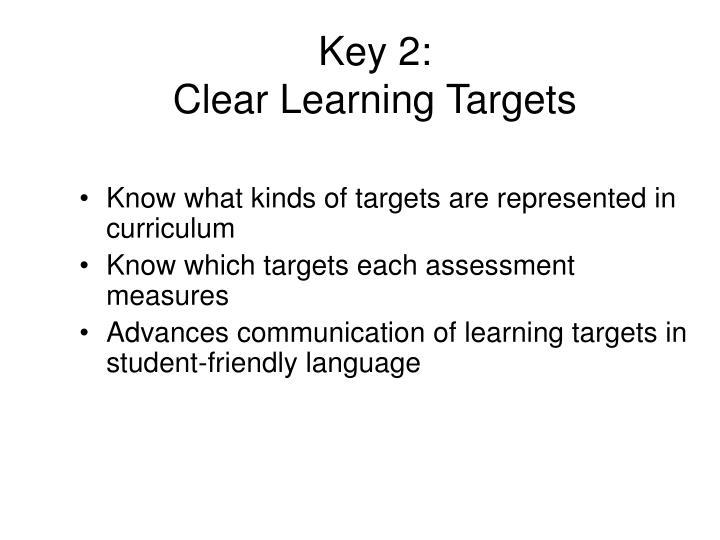 Key 2: