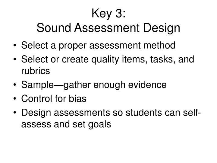Key 3: