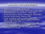 bilincin n robiyolojisi