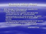ekolojik bilin mead1