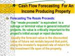 cash flow forecasting for an income producing property2