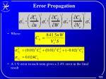 error propagation2