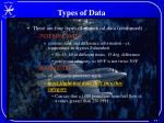 types of data1