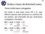 cidos e bases de br nsted lowry1
