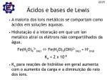 cidos e bases de lewis1