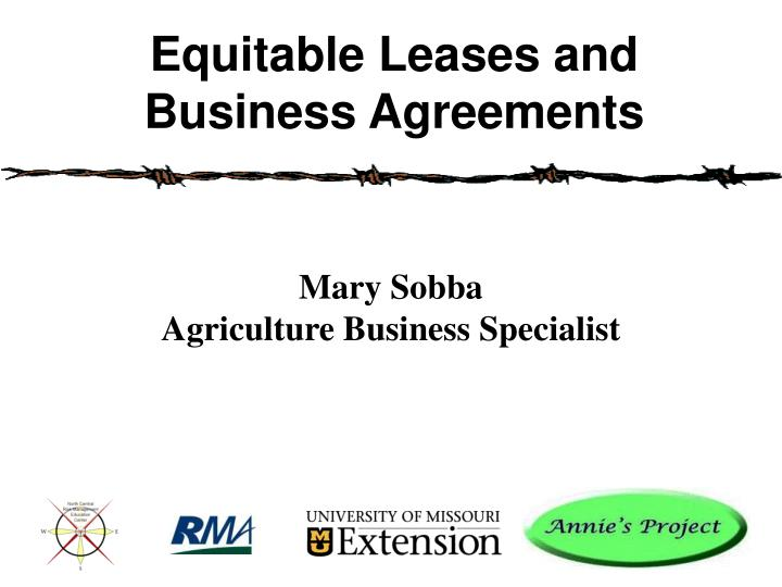 mary sobba agriculture business specialist n.