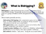 what is bidrigging