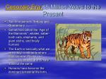 cenozoic era 65 million years to the present