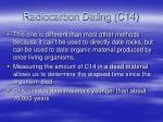 radiocarbon dating c14