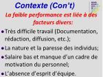contexte con t