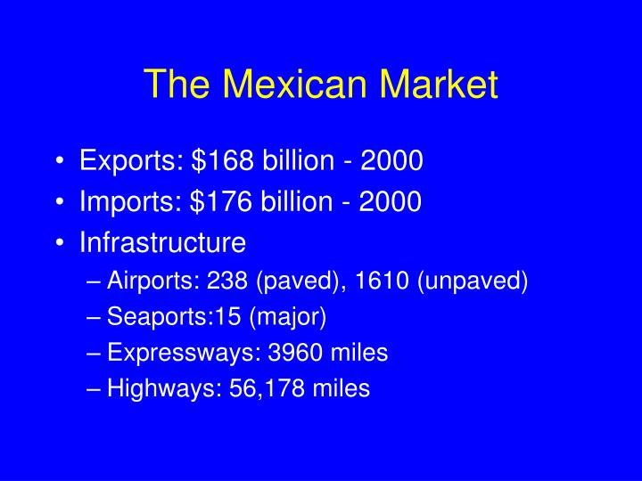 The Mexican Market
