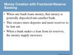 money creation with fractional reserve banking1