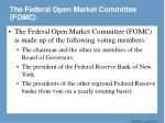 the federal open market committee fomc1