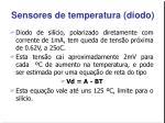 sensores de temperatura diodo