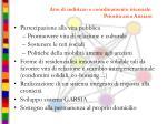 atto di indirizzo e coordinamento triennale priorit area anziani