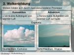 2 wolkenbildung