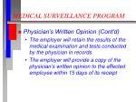 medical surveillance program4